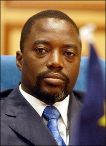 Joseph Kabila, Président de la R. D. Congo