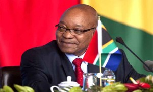 LE PRESIDENT DE L'AFRIQUE DU SUD, SON EXCELLENCE MONSIEUR JACOB ZUMA