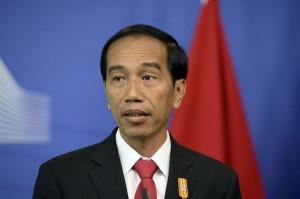 Président joko widodo de l'indonésie