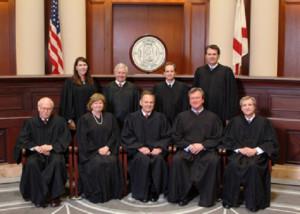 les juges de la cour supr^me americaine
