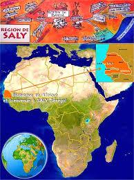 position du sénégal dans le monde