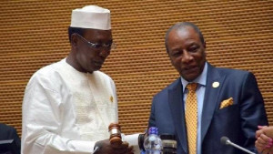 Idriss-Déby-Itno-à-Conakry-alpha-conde-guinee