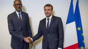 PaulKagamé-EmmanuelMacron
