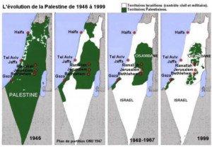 palestine de 1948 a 2019