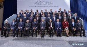 DIRIGEANST DES PAYS DU G20