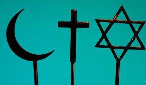 juij, chrétien et musulman