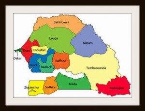 senegal-14regions-carte
